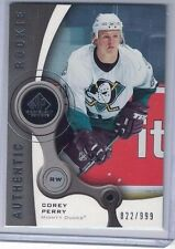 2005-06 SP GAME USED #134 COREY PERRY RC