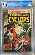 X-Men #45 (1968) CGC 9.6 -- O/w to white pgs; Origin of Iceman; Magneto app.