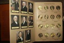 US Presidential One Dollar coin set - 78 coins from P & D mints in Dansco folder