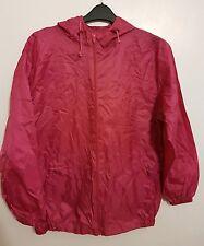 ARTIC STORM - Ladies Womens Girls Pink Hooded Rain Winter Coat / Mac Size Small