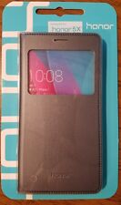 Brand *NEW Huawei Gray Flip Case for Honor 5X, Scratch resistant 4H hardness