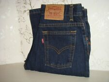 Women's Vintage Levi's Blue Denim Jeans Made in Canada Cotton Style 54515 5818