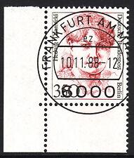 32) Berlin 350 Pf. Frauen  828 Eckrand Ecke 3 E3 EST Frankfurt m Gummi Perfekt