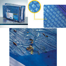 Copertura isotermica per piscine ovali da 810X470 cm con struttra in acciaio