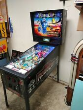 Rare 1990 Data East Robocop pinball machine fully shopped working -Free Shipping