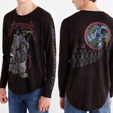 Metallica Unforgiven Long Sleeve T Shirt - Urban Outfitters - Rare - Size Medium