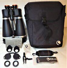 Celestron SKYMASTER PRO 20x80 BAK-4 Prism Waterproof Blk Binoculars EX $188.88