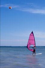 562058parasailing y windsurf A4 Foto Impresión