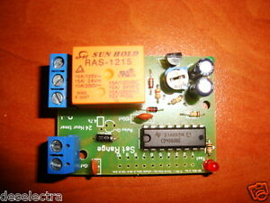 DELAY OFF TIMER SWITCH TIME RELAY 25 SEC TO 31 HOURS KIT 12V / 10A DELAY STOP