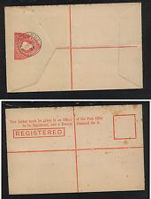 Victoria    registered postal envelope 1902 cancel unused       MS1217