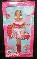 Barbie HAPPY HOLIDAYS CHRISTMAS Doll Store Exclusive 2011 Limited Edition NEW