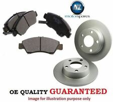 FOR PEUGEOT 308 SW ESTATE 2008--> REAR BRAKE DISC SET + PADS WITH BEARING + ABS