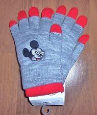 110//128 H/&M Micky Maus Handschuhe Lagenlook Gr