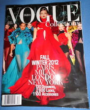 Vogue Paris Collections #12 Fall Winter 2012 Chanel Prada Gucci Versace French