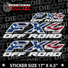 4x4 FX4 Offroad american flag Truck Decal Sticker F-150 COMPLETE SET 419