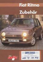 Fiat Ritmo Zubehör Prospekt A 1983 brochure prospectus brosjyre prospetto Auto