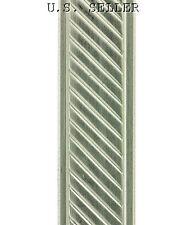 Slant W Border Patterned Nickel Silver Wire 3 Foot Package 11mm Wide