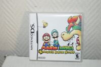 JEU NINTENDO DS MARIO ET LUIGI BOWSER INSIDE STORY GAME VERSION USA  ET NOTICE