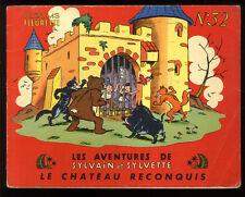 SYLVAIN ET SYLVETTE  n°32  LE CHATEAU RECONQUIS   CUVILLIER   1959
