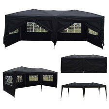 10'x 20' Outdoor EZ POP UP Party Tent Wedding Gazebo Canopy Marquee 6 Walls