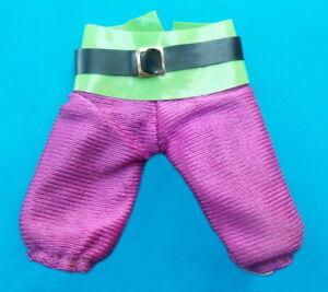 """1974 SUPER PIRATES 8"""" mego figure -- JEAN LAFITTE -- Purple PANTS es"""