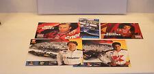 INDY FORMULA 1 Racing Autographed Lot Fittipaldi da Matta +++