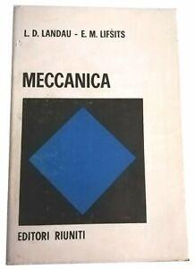 MECCANICA - LANDAU , LIFSITS - EDITORI RIUNITI - RISTAMPA 1982