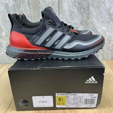 Adidas Ultraboost Guard Core Size 8.5 Mens Black Grey Scarlet Running Shoes