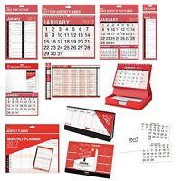 2017 Pared Planificadores & Calendarios - Año / Mes/Semana / Día Vista {Tallon}
