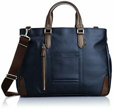 [EVERWIN] business bag made in Japan and water-repellent 21598 NV Navy