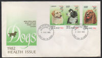 """1982, New Zealand """"Dogs"""" Health Issue illustrated unaddressed FDC."""