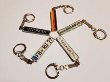 Schlüsselanhänger  mit Ihren KFZ-Kennzeichen(BMW,MAZDA,VW,VOLVO,MAN,SKANIA,OPEL