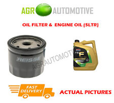 PETROL OIL FILTER + FS F 5W30 OIL FOR FORD TOURNEO CONNECT 1.6 150 BHP 2013-