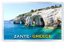 ZANTE GREECE MOD2 FRIDGE MAGNET SOUVENIR IMAN NEVERA