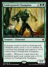 Mtg  UNDERGROWTH CHAMPION Battle for Zendikar mythic rare  Magic Gathering card