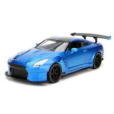 1/24 Jada Fast & Furious 2009 Nissan GT-R R35 Ben Sopra Body Kit 98271 Blue