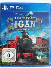 Transport Gigant II - Tycoon, Wirtschaftssimulation, Eisenbahn, Fabrik, Kampagne