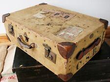 Vintage Demob Suitcase Luggage WW2 Soldier
