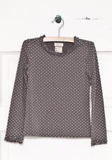 NWT Matilda Jane Size 12 Gray CONNECT THE DOTS Layering Top Hello Lovely