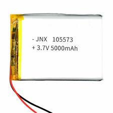 3.7V 5000mAh Polymer 105575 Battery Li-po For Power bank ipod Tablet PC GPS