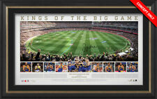 West Coast Eagles 2018 Premiers Panoramic MCG AFL Signed Kennedy Print Framed