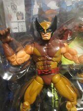 MARVEL LEGENDS BROWN WOLVERINE -- MIP ! Toy Biz wave VI !  Classic X-Men