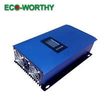 NEW LCD Display Auto Switch 1000W MPPT Solar Grid Tie Inverter Pure Sine Wave