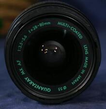 Working QUANTARAY 35-80mm f3-5.6 MX AF Lens for Minolta Maxxum Sony Alpha Camera