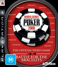 World Series of Poker 2008 Battle for the Bracelets PS3 Game USED
