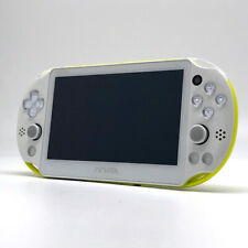 SONY PS Vita PCH-2000 Slim Lime Green White Wi-Fi LCD FW:3.65 Console only