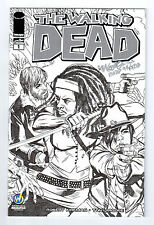 THE WALKING DEAD #1 SKETCH VARIANT SIGNED. HIGH GRADE 9.4-9.8