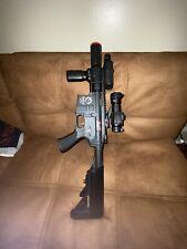 airsoft gun Javelin Super CQB with attatchments Full Metal