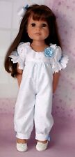 PIXIES HAND MADE : ROMPER : COMPATIBLE WITH GOTZ HANNAH: OR SIMILAR 18 INS DOLL