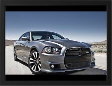 DODGE CHARGER SRT8 NEW A3 FRAMED PHOTOGRAPHIC PRINT POSTER